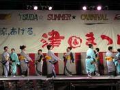 津田まつりでの踊り