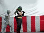 キャラクターショーの「轟轟戦隊ボウケンジャー」、