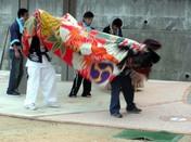 香川県さぬき市津田町西町の獅子舞