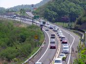 高速高松道5月3日の渋滞の写真