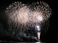 高松まつりの花火の写真2