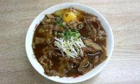 徳島ラーメン巽屋のラーメンの写真