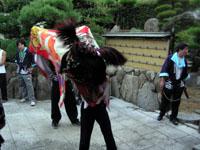 獅子舞 平成19年秋