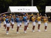 2008年津田小学校の運動会の模様①