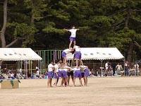 2008年津田小学校の運動会の模様②