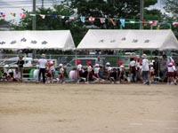 2008年鶴羽小学校の運動会の模様①
