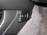 mitzの車にETCを搭載した写真