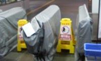 JR高松駅 自動改札機導入直前の写真