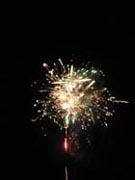 津田まつり 打ち上げ花火3の写真