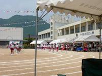 鶴羽小学校最後の運動会の写真