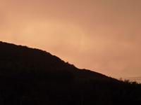 平成21年6月23日19時15分頃の津田上空の写真