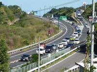 シルバーウィーク中の高松自動車道混雑の模様