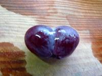 ハート型葡萄の写真