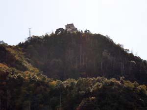 岐阜城少しUP
