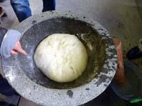 2009mitz餅つき 白餅の写真
