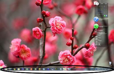 mitzのパソコンのデスクトップ画像