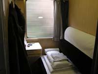 寝台特急はやぶさのA寝台の写真