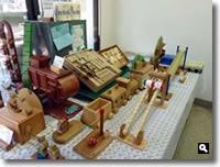 第6回KIMONO & 茶和会のサンタおもちゃ工房の写真②