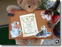 第6回KIMONO & 茶和会のウェルカムボードの写真