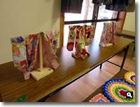 第6回KIMONO & 茶和会の展示品の写真②