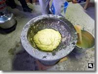 芋餅の写真