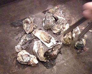 牡蠣焼きの写真