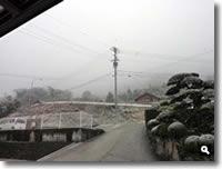 2011年2月14日津田町山手での雪の写真①