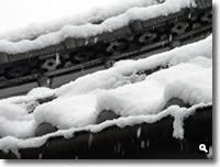 2011年2月14日津田町山手での雪の写真⑤