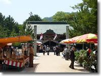 2011年津田石清水八幡宮 春市の写真①