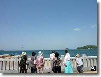 津田町まちぶら探検隊「津田の神社で開運祈願」の写真
