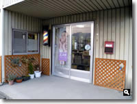 小山理容店ビフォーアフター、建て替え前の写真