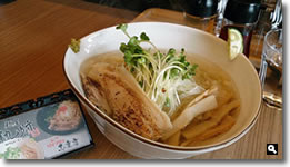 麺屋軌跡志度店の鯛塩ラーメンの写真