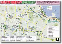 さぬき市(長尾・津田周辺)エリア屋外公衆電話MAPの画像