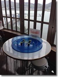 日本ドルフィンセンター流しうどんの写真