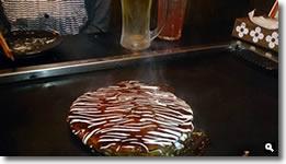 2014年6月17日さぬき市津田町津田昭和堂のお好み焼きエビ玉の写真