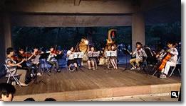 2014年8月2日 津田石清水神社 夏越祭 クラシック演奏の写真
