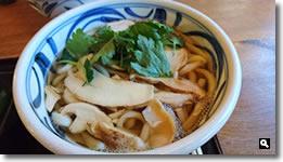 2015年11月5日 香川県さぬき市まはろの松茸うどんの写真
