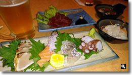 2015年12月28日香川県さぬき市津田町 ふくろう の料理の写真