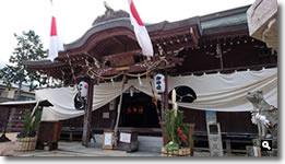 2016年1月3日 香川県さぬき市津田町 津田石清水神社で初詣の写真