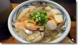 2016年1月17日 麺処まはろ 海鮮しっぽくうどん の写真