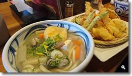 2017年12月15日 麺処まはろ 大粒牡蠣のしっぽくうどんと天盛りの写真