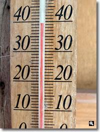 2018年7月24日 さぬき市津田町鶴羽mitzの家付近 40℃超え(でも写真は39.5℃)の写真