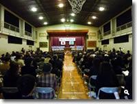 さぬき市立鶴羽小学校 閉校記念式典の模様