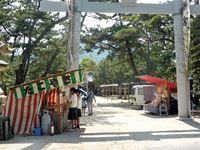 2018年5月12日 「津田石清水神社・賀茂神社 春市」の出店の写真