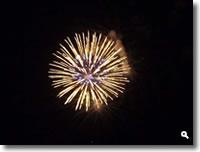 津田まつり2010の花火の写真①